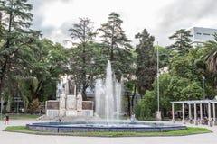 Plaza Ιταλία Mendoza Αργεντινή Στοκ φωτογραφία με δικαίωμα ελεύθερης χρήσης