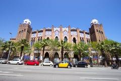 Plaza μνημειακό de Βαρκελώνη Στοκ εικόνα με δικαίωμα ελεύθερης χρήσης