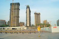 Plaza προκυμαιών Baoan Στοκ εικόνα με δικαίωμα ελεύθερης χρήσης