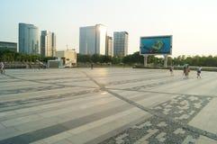 Plaza προκυμαιών Baoan Στοκ Φωτογραφία