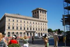 Plaza Ρώμη Ιταλία οδών Στοκ εικόνα με δικαίωμα ελεύθερης χρήσης