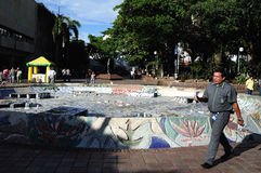 Plaza σαντάντερ - Neiva. Κολομβία Στοκ φωτογραφίες με δικαίωμα ελεύθερης χρήσης
