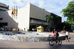 Plaza σαντάντερ - Neiva. Κολομβία Στοκ Εικόνες