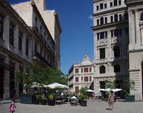 Plaza Σαν Φρανσίσκο στην Αβάνα Κούβα Στοκ εικόνα με δικαίωμα ελεύθερης χρήσης