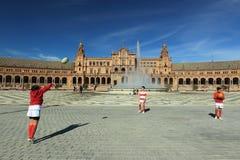 plaza Σεβίλη de espana Στοκ εικόνες με δικαίωμα ελεύθερης χρήσης