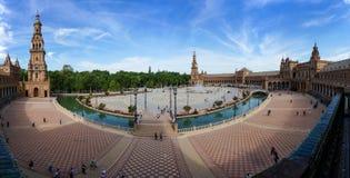 plaza Σεβίλλη Ισπανία de espa Στοκ Φωτογραφίες
