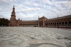 plaza Σεβίλη Ισπανία de espania Στοκ Εικόνες