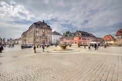 Plaza σε Speyer, Γερμανία Στοκ εικόνες με δικαίωμα ελεύθερης χρήσης