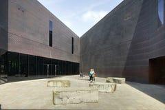 Plaza στην είσοδο de Young Museum Στοκ Φωτογραφία