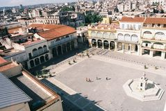 Plaza στην Κούβα Στοκ Εικόνες