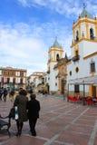 Plaza στη Ronda Στοκ Εικόνες