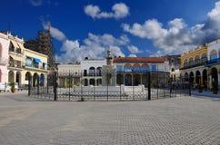 plaza της Αβάνας πηγών Στοκ εικόνα με δικαίωμα ελεύθερης χρήσης