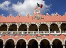 Plaza της ανεξαρτησίας Yucatan Μεξικό Στοκ εικόνα με δικαίωμα ελεύθερης χρήσης
