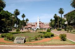 plaza της Αργεντινής de mayo στοκ εικόνα με δικαίωμα ελεύθερης χρήσης