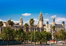 plaza της Βαρκελώνης δ Lopez antonio Στοκ Εικόνες