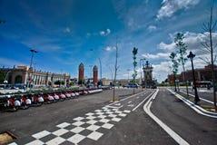 plaza της Βαρκελώνης de espanya Στοκ φωτογραφία με δικαίωμα ελεύθερης χρήσης