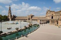 Plaza της Ισπανίας, Σεβίλη Στοκ φωτογραφία με δικαίωμα ελεύθερης χρήσης