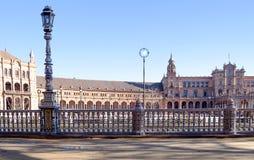Plaza της Ισπανίας στη Σεβίλη Στοκ Εικόνα