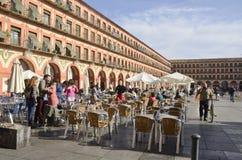 Plaza του Corredera Στοκ Εικόνα