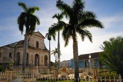 plaza Τρινιδάδ δημάρχου της Κού Στοκ Φωτογραφίες