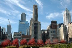 plaza χιλιετίας του Σικάγο&upsilo Στοκ εικόνα με δικαίωμα ελεύθερης χρήσης