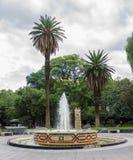 Plaza Χιλή Mendoza Αργεντινή Στοκ Εικόνα