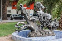 Plaza Χιλή Mendoza Αργεντινή Στοκ φωτογραφία με δικαίωμα ελεύθερης χρήσης