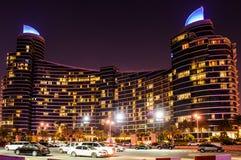 Plaza Al Marsa στο Ντουμπάι, Ε.Α.Ε. Στοκ φωτογραφία με δικαίωμα ελεύθερης χρήσης