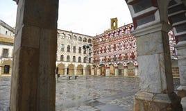 Plaza Alta in Badajoz, Extremadura, Spain Royalty Free Stock Images