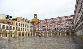 The Plaza Alta in Badajoz, Extremadura, Spain Royalty Free Stock Image
