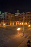 Plaza Alta Via Crucis Royalty Free Stock Photo