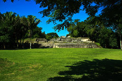 Plaza antica del Maya Fotografia Stock Libera da Diritti