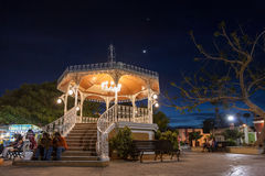 Plaza Antonio Mijares i San Jose del Cabo royaltyfri fotografi
