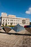 Plaza australiana del sur del parlamento y del festival Fotos de archivo libres de regalías