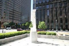 Plaza av den Americas borggården Royaltyfri Foto