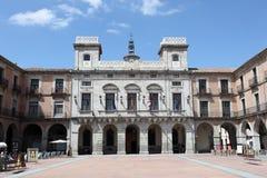 Plaza in Avila, Castilla y Leon, Spain Royalty Free Stock Photos
