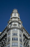 Plaza Ayuntamiento. Building in the center of Valencia Royalty Free Stock Images