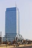 Plaza azul da torre em Varsóvia Foto de Stock