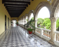 Plaza balcão do assoalho da independência do ò Foto de Stock Royalty Free