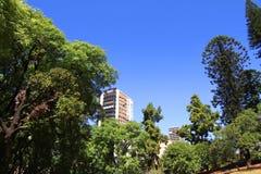 Plaza Barrancas de Belgrano στο Μπουένος Άιρες Στοκ φωτογραφία με δικαίωμα ελεύθερης χρήσης