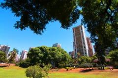 Plaza Barrancas de Belgrano in Buenos Aires Stock Image