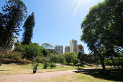 Plaza Barrancas de Belgrano in Buenos Aires Royalty Free Stock Photo