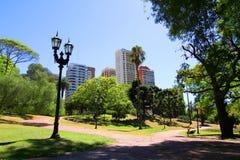 Plaza Barrancas de Belgrano en Buenos Aires fotografía de archivo libre de regalías