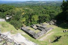 Plaza Belize di Xunanrunich fotografie stock libere da diritti