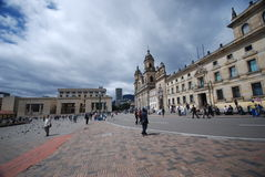 Plaza Bolivar - Bogota Stock Photo