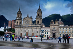 Plaza Bolivar - Bogota Royalty Free Stock Photos