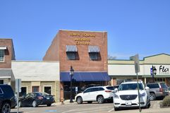 Plaza, Brownsville, Tennessee imagenes de archivo