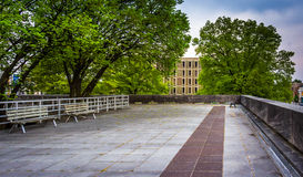 Plaza at the Capitol Complex in Harrisburg, Pennsylvania. Stock Images