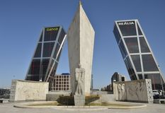 Plaza Castilla Stock Photography
