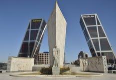 Plaza Castilla Stock Photography